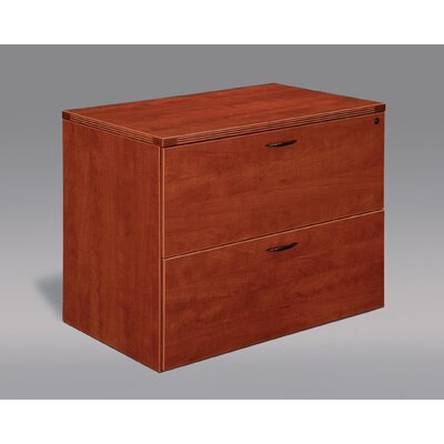 Fairplex 2-Drawer File Cabinet Finish: Cognac Cherry
