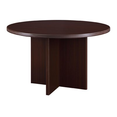 "Fairplex Circular Conference Table Size: 3' 6"" Diameter"