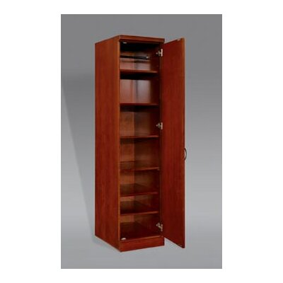 """Flexsteel Contract Belmont Right Hand Facing Single Door 78"""" Standard Bookcase"""