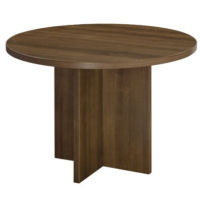 "Fairplex Circular Conference Table Size: 42"" W x 42"" D"