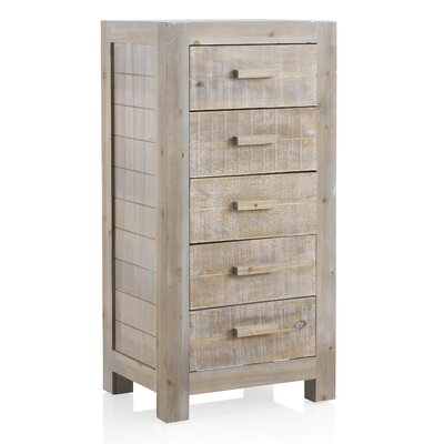 Geese 5 Drawers Chest of Drawers