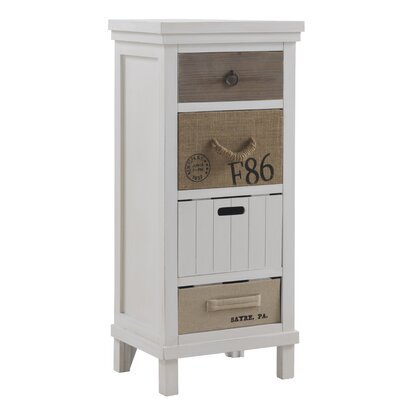 Geese 4 Drawer Chest