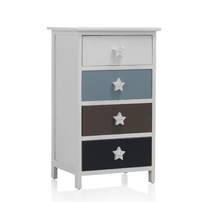 Geese Chest of drawers with 4 drawers
