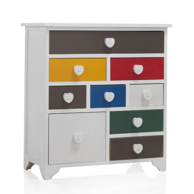 Geese 9 Drawer Chest