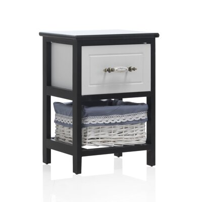 Geese 2 Drawer Bedside Table