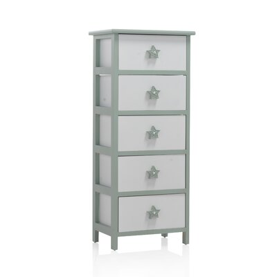 Geese 5 Drawer Chest of Drawers