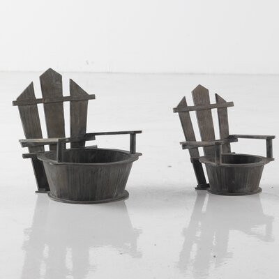 Geese 2 Piece Pot Planter Set