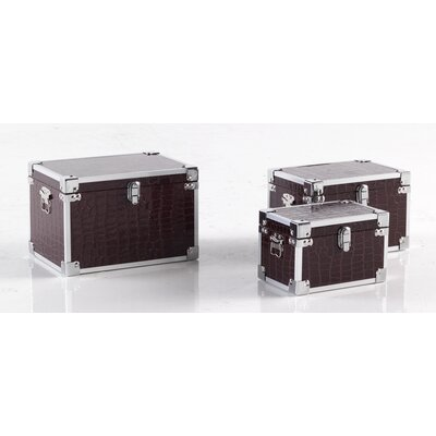 Geese 3 Piece Trunk Set with Corner
