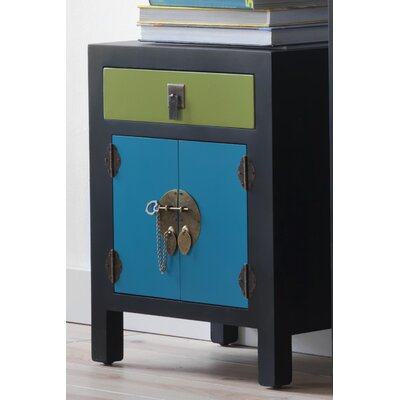 Geese 1 Drawer Bedside Table