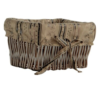 Geese Wicker Basket with Lining