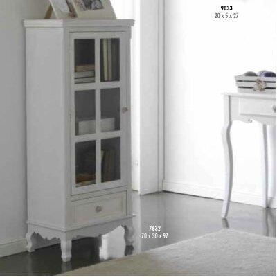 Geese 1 Door 1 Drawer Combi Cabinet