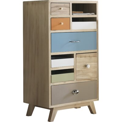 Geese 1 Door 7 Drawers Chest of Drawers
