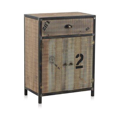 Geese 2 Door 1 Drawer Combi Cabinet