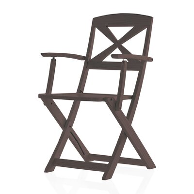 Geese Folding Dining Arm Chair