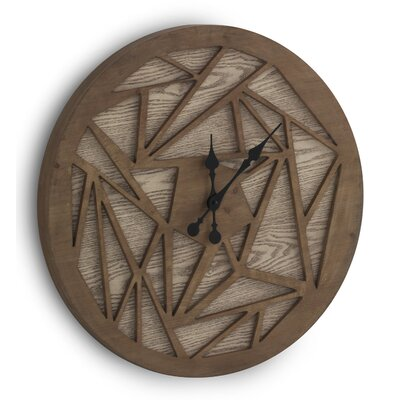 Geese 60cm Wooden Wall Clock