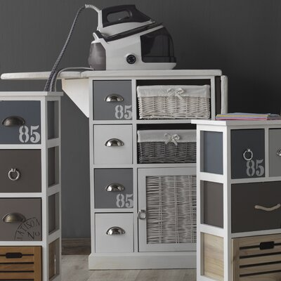 Geese 1 Door 4 Drawer Chest of Drawers