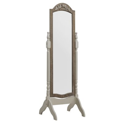 Geese Wooden Full Length Mirror