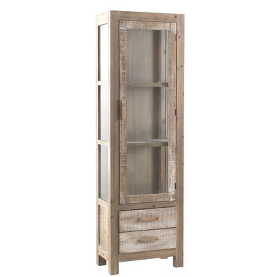 Geese Curio Display Cabinet