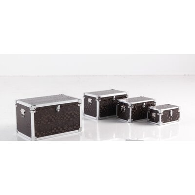 Geese 4 Piece Trunk Set with Corner