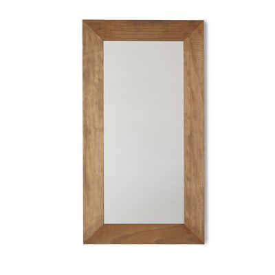 Geese Pine Wooden Wall Mirror