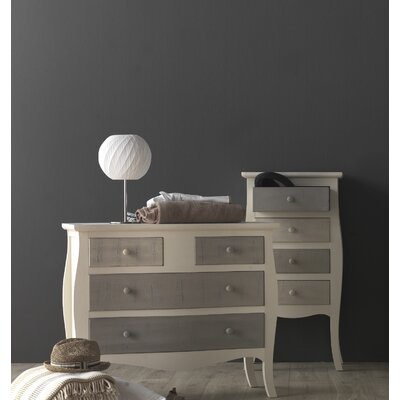 Geese Wooden 4 Drawer Chest of Drawers