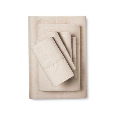 6 Piece Sheet Set Color: Tan, Size: King