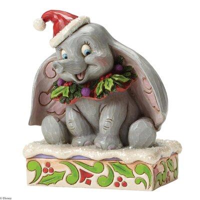 Disney Traditions Sweet Snow Fall Dumbo Figurine