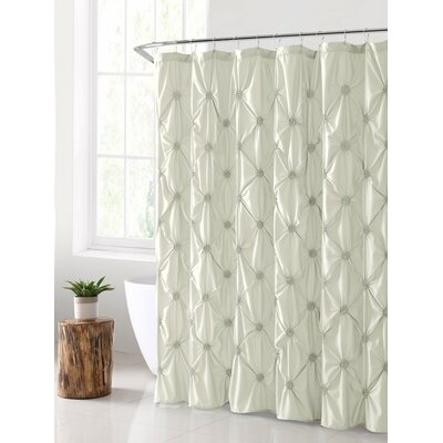 Verviers Shower Curtain Color: White