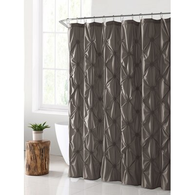 Verviers Shower Curtain Color: Taupe