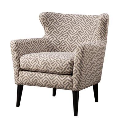 concetta concave arm chair wayfair. Black Bedroom Furniture Sets. Home Design Ideas