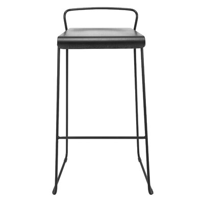 "Lockwood 29"" Bar Stool Color: Ash"