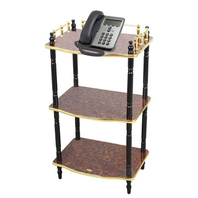 Multi-Tiered Telephone Table