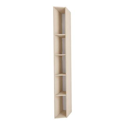 Gene Multimo Standard Bookcase Color: Light Wood