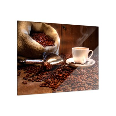 Klebefieber Kaffeegenuss Glass Art