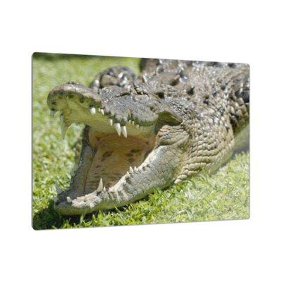 Klebefieber Krokodilmaul Cutting Board