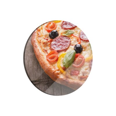 Klebefieber Ofenfrische Pizza Cutting Board