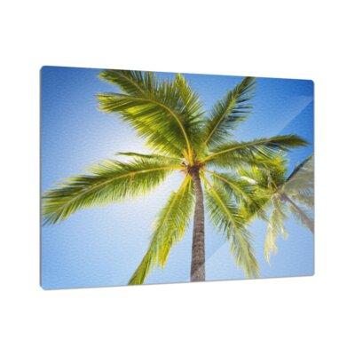 Klebefieber Palmen im Sommer Cutting Board