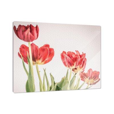 Klebefieber Rote Tulpe Cutting Board