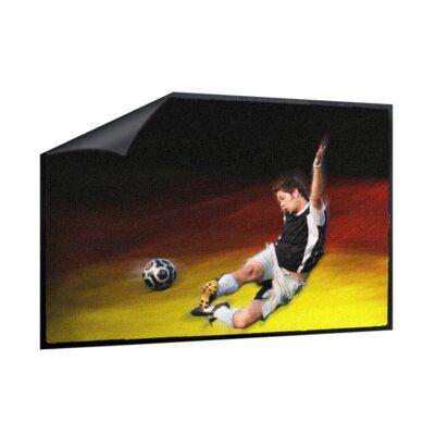 Klebefieber Fussball Doormat