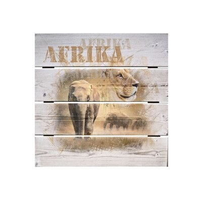 Klebefieber Tiere Afrikas Photographic Print on Canvas
