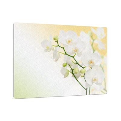 Klebefieber Weiße Orchidee Cutting Board
