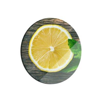 Klebefieber Zitrone mit Blättchen Cutting Board