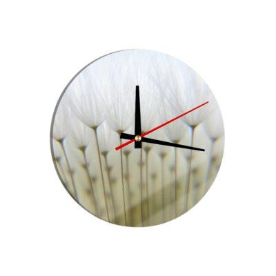Klebefieber Detailed Dandelion 30cm Analogue Wall Clock