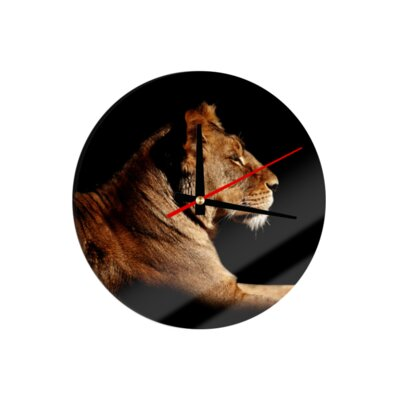 Klebefieber Lion 30cm Analogue Wall Clock