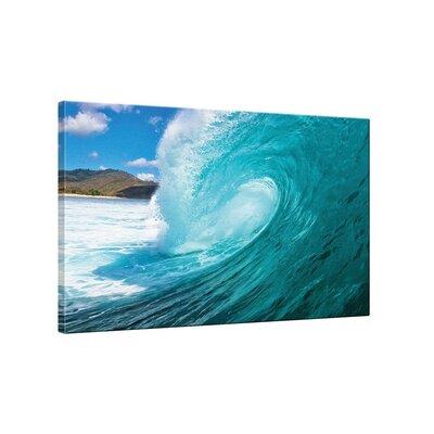 Klebefieber Surferwelle Photographic Print on Canvas