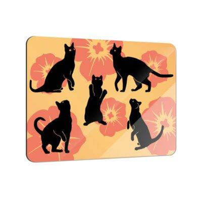 Klebefieber Cats Coaster Set