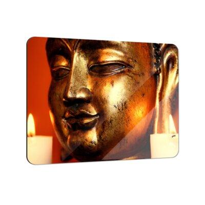 Klebefieber Goldener Buddha Coaster Set