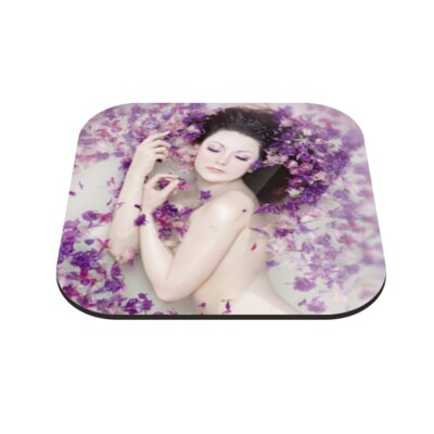 Klebefieber Blütenbad Coaster Set