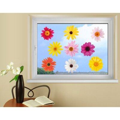 Klebefieber Blüten Window Sticker Set