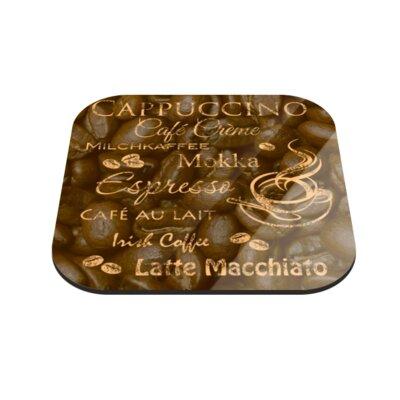Klebefieber Kaffeevariation Coaster Set